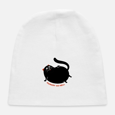 Hunger Hungry as Hell Cat - Baby Cap