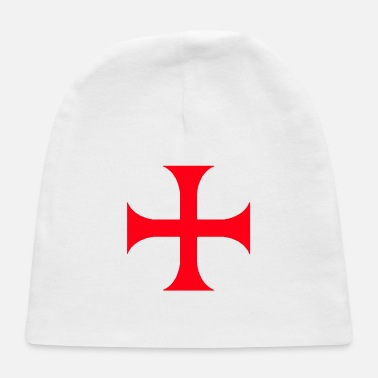 Red Templar red cross - Baby Cap