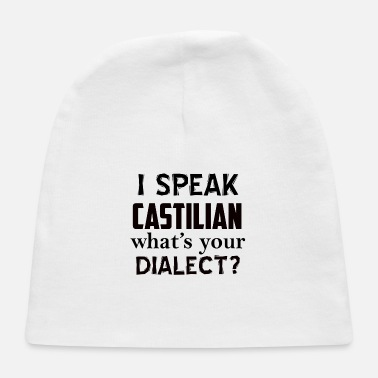 Dialect castilian dialect - Baby Cap
