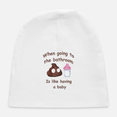 Bathroom Bathroom Babies - Baby Cap