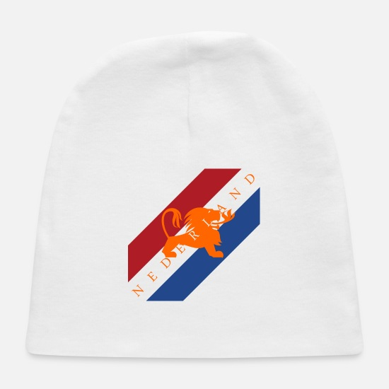 Netherlands Baby Caps - Netherlands - Baby Cap white