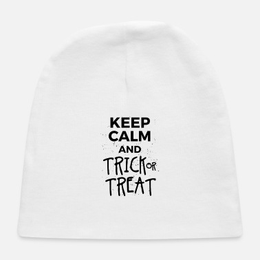Halloween. Keep Calm. Trick or Treat. Candy. Oct. - Baby Cap