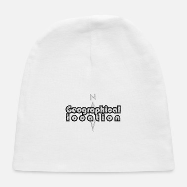 Geographic Geographical Location - Baby Cap