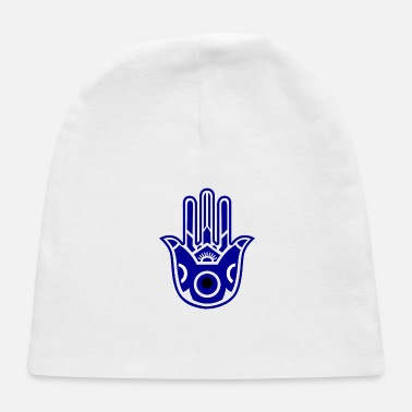 Evil Hamsa with the Evil eye - Baby Cap