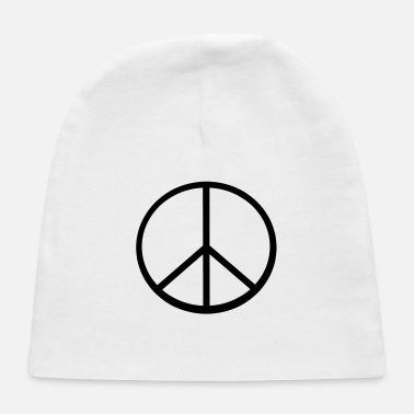 Peace Sign Peace Sign - Baby Cap