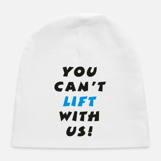 Movie Baby Caps - Lifting - Baby Cap white