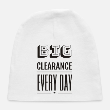 Big Big Clearance - Baby Cap