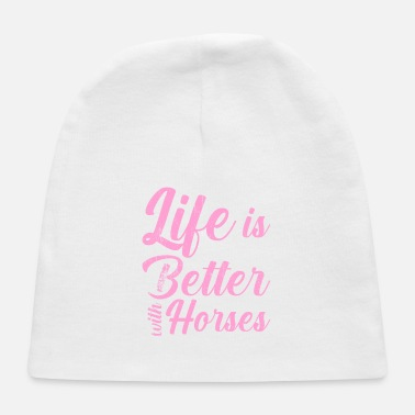 Hoof Life is better with horses - Baby Cap