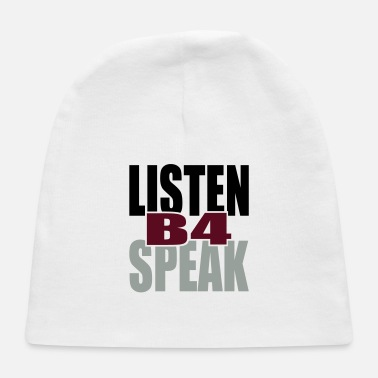 Tlc Listen Before Speak - Baby Cap