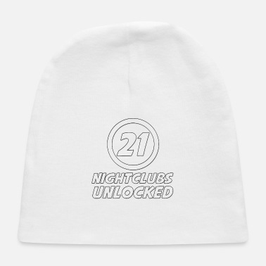 Congratulations 21 Years Old Nightclubs Unlocked - Baby Cap