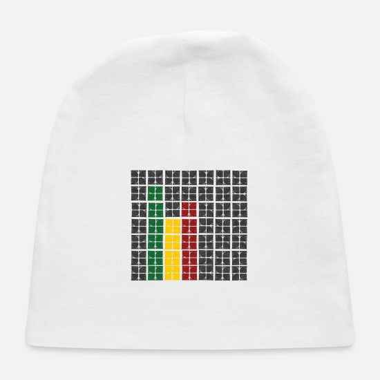 Octave Baby Caps - rasta equalizer - Baby Cap white
