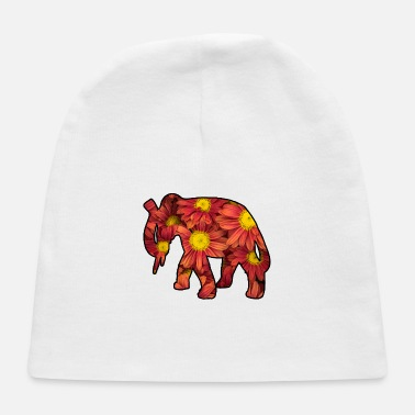 Flower Flower Elephant Flowers Bunch Of Flowers - Baby Cap