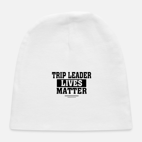 Stockholm Baby Caps - Trip leader 1 - Baby Cap white
