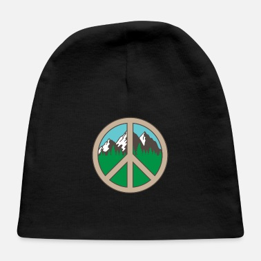 Mountains Peace Adventure Mountains Vacation Gift - Baby Cap