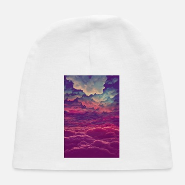 Above The Clouds Colorful-Clouds - Baby Cap