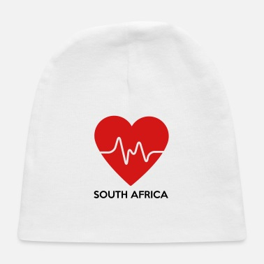 South Africa Heart South Africa - Baby Cap