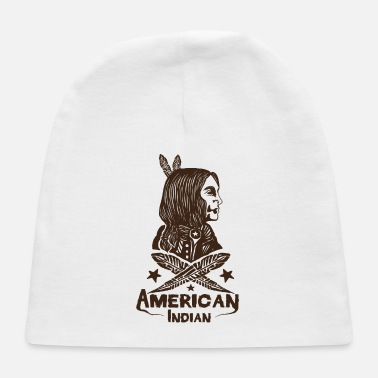 American Indian American Indian - Baby Cap