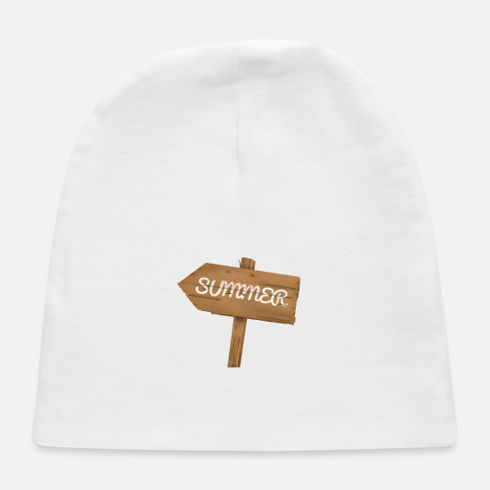 Heat Baby Caps - summer - Baby Cap white