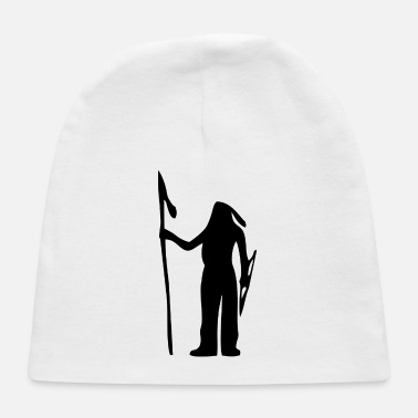 American Indian American Indian Silhouette - Baby Cap