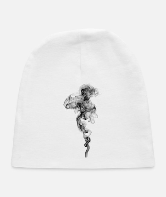 Whistle Baby Hats - Smoke case - Baby Cap white