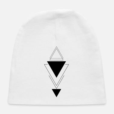 Rectangle Vertical triangle - Baby Cap
