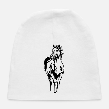 Gallop Horse,animal, pet, - Baby Cap