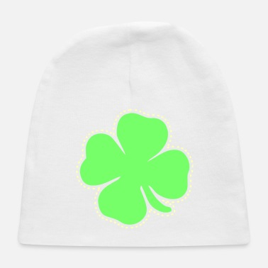 Day Shamrock St Patrick's Day clover good luck - Baby Cap