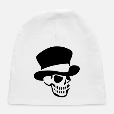 Pinup Scull Hat Cartoon vector / changeable Design - Baby Cap