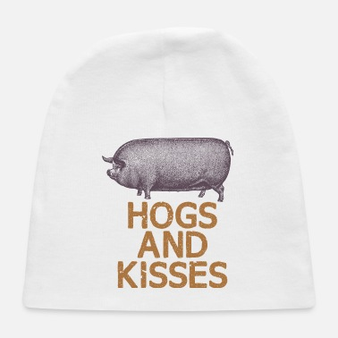 Hog Hogs and kisses - Baby Cap