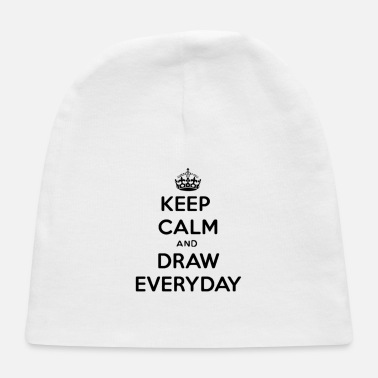 Drawing Keep Calm And Draw On | How To Draw - Baby Cap