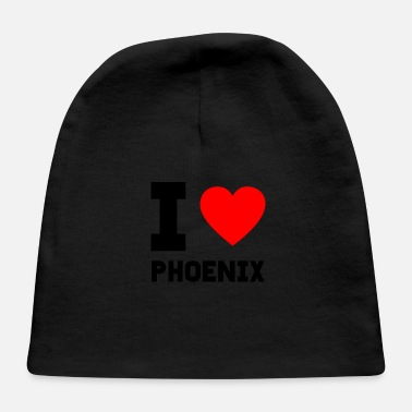 Love I love Phoenix gift present city special offer - Baby Cap