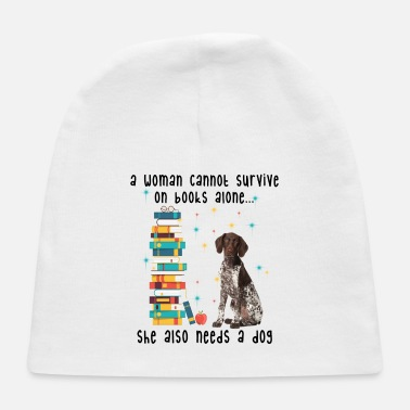 BOOK AND GERMAN SHORTHAIRED POINTER - Baby Cap