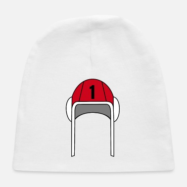 Red Water Polo Cap Nr.1 | Gift Idea for Goalkeeper - Baby Cap