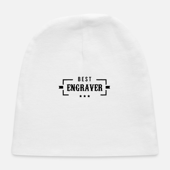 Team Baby Caps - Team Engraver Engravers Engraving Occupation - Baby Cap white