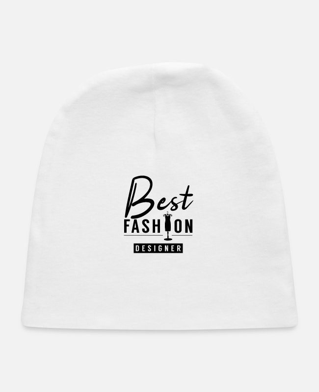 Design Baby Hats - Team Fashion Designer Design Job Designing - Baby Cap white