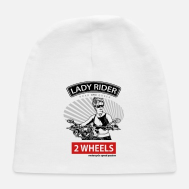 Gang Lady Rider Road Queen, T-shirt for Biker - Baby Cap