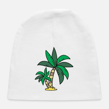 Palm Trees Palm Trees Palm Tree - Baby Cap