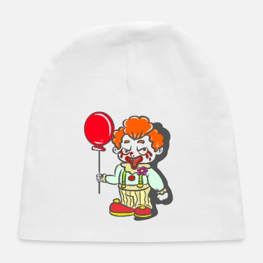 Horror Clown with Red Balloon - Baby Cap