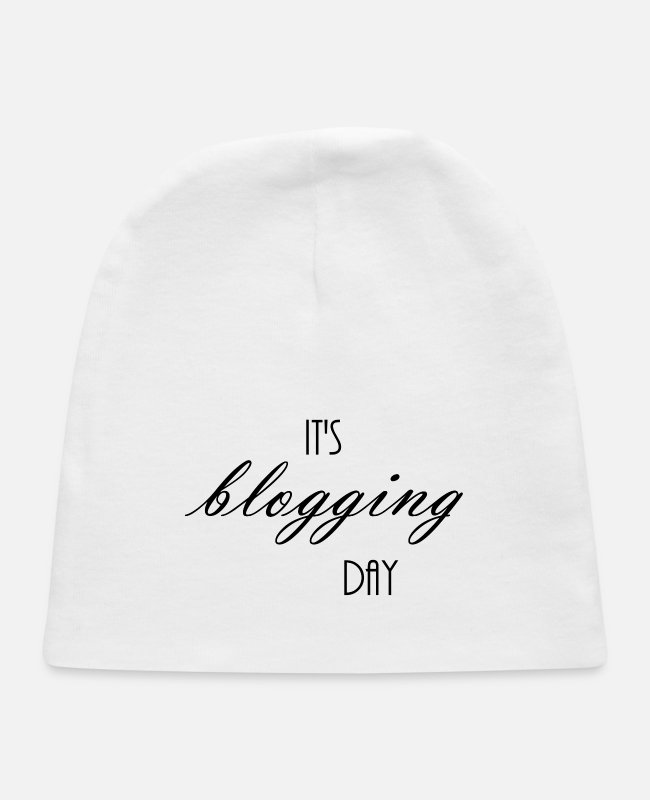 Blogger Baby Hats - Blog Day - Baby Cap white