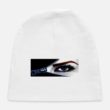 Blue eye zipper - Baby Cap
