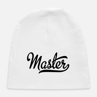 Masters Master - Baby Cap