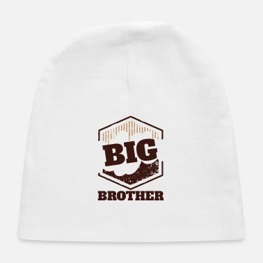Big Big Brother Big Sister Big Brother BIG Badge - Baby Cap