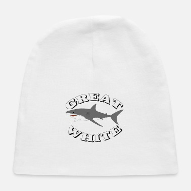 Great White Shark Great White Shark 8 - Baby Cap