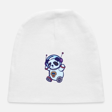 Spacesuit Panda in spacesuit - Baby Cap