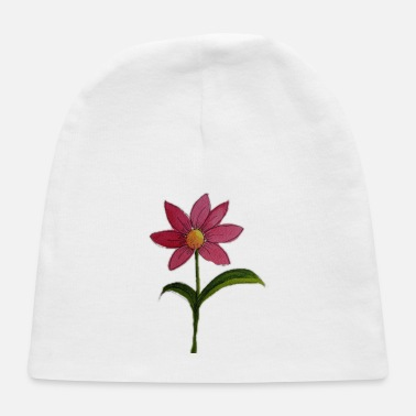 Watercolour Watercolour Flower - Baby Cap