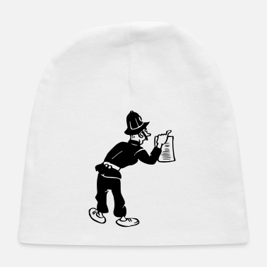 Gendarme Policeman with warrant - Baby Cap