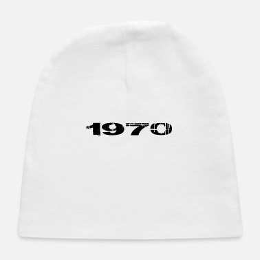 Year Of Birth 1970 year of birth - Baby Cap