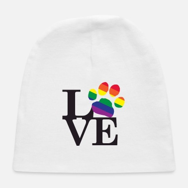 Pawprint Love-Gay-Pawprint - Baby Cap