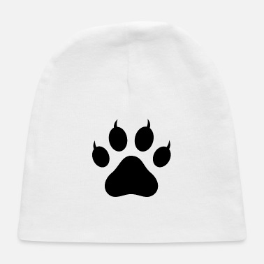 Pawprint Cat Pawprint - Baby Cap