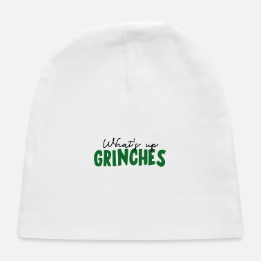 Greeting Grinch Greeting - Baby Cap